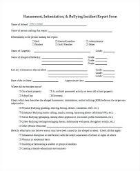 School Incident Report Form Template Patient Incident Report Form