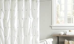 extra long white terry cloth shower curtain shower curtains design regarding measurements 1250 x 750