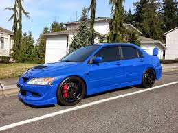 mitsubishi evo 8 blue. sale 2003 mitsubishi lancer evolution 8 evo blue c