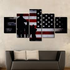 preferred multi panel canvas wall art within army special forces patriotic multi panel wall art canvas