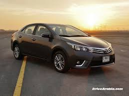 First drive: 2014 Toyota Corolla in the UAE | Drive Arabia