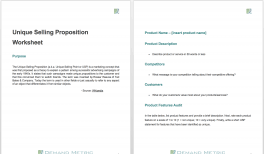 Pricing Template Pricing Strategy Template Demand Metric