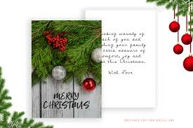 Christmas Personalised Greeting Card For Special One