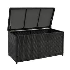 best choice s outdoor wicker patio furniture deck storage box for cushions pillows pool