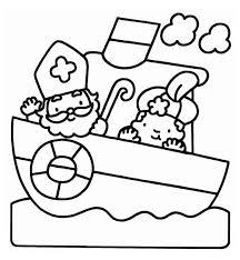 Kids N Fun 38 Kleurplaten Van Sinterklaas Sinterklaas Kleurplaat