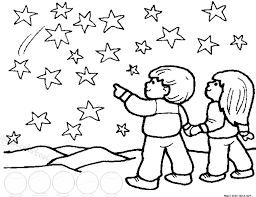 Small Picture Stars Free Printable Coloring Page for kids Magic Color Book