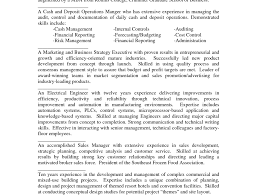 Resume Summary Example Example Of A Good Resume Format Resume