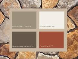 exterior paint color combinations with stone. beautiful ranch house colors with two awesome color schemes revealed a in oregon part of at tiny houses and exterior paint combinations stone n