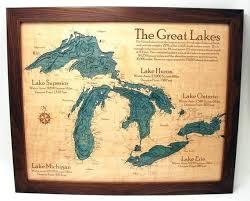 Lake Superior Depth Chart Lake Erie Depth Chart Beautiful Great Lakes Depth Charts