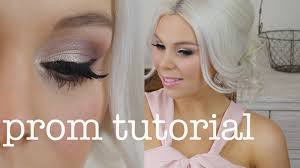 getting prom ready makeup hair my dress prom formal makeup using affordable s