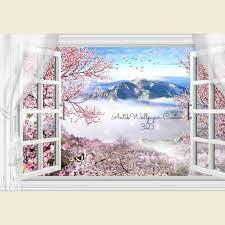 wallpaper dekorasi tema pemandangan ...