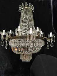 large antique french empire chandelier