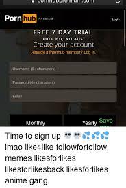 Porn user name password