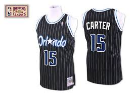 15 Throwback Carter Jersey - Nba Black Orlando Vince And Ness Swingman Mitchell Men's Magic