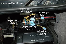 bmw e38 728i sport no amplifier the amp is 2 in the diagram below non dsp will have 2 wiring connectors on top dsp will have at least 3