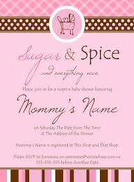 Sugar And Spice Baby Shower Invitations Sugar And Spice Baby Sugar And Spice Baby Shower Favors