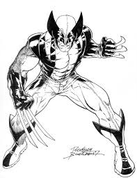 Small Picture Free Superhero Printables Wolverine coloring pages Superhero