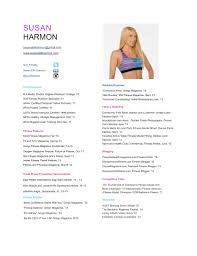 Resume For Fitness Trainer Best Fitness And Personal Trainer Resume