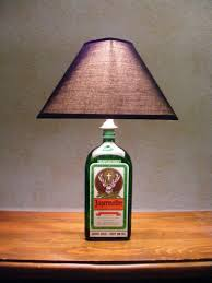 How To Decorate Empty Liquor Bottles Bottle Lamp Liquor Bottle Lamp Jagermeister Bottle Lamp Mens 65