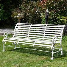 ham park metal garden bench