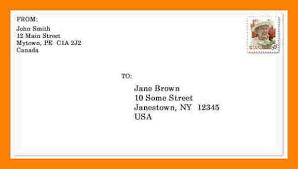 Letter Envelope Example Joele Barb