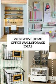 home office wall storage. 136 The Coolest Storage And Organizing Ideas Of 2016 Office Wall Organization Home To Pinterest