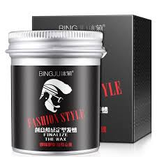 100g Strong Hold Gel สำหรบผมผชายยาวนานแหง Stereotypes ประเภทผม Balsam Oil Wax สำหรบผมจดแตงทรงผม