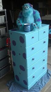 Captivating This DIY Monsters Inc Dresser Is So Cute For Your Disney Themed Nursery!  Sully Is So Soft And Cuddly.