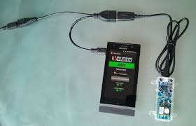 picture of usb otg charging y cables for sony xperia
