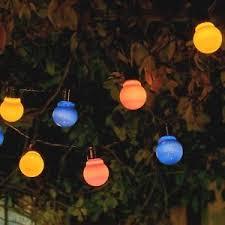 garden lamps. Interesting Garden Image Is Loading AuraglowSetof10SolarStringFestoonLanterns For Garden Lamps