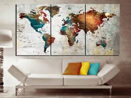 push pin map canvas wall art 3 piece canvas world map world map wall art world map canvas print world map abstract art word map art print on 3 piece wall art canada with push pin map canvas wall art 3 piece canvas world map world map wall