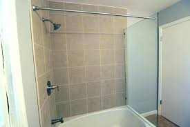 full size of custom corner shower rods vancouver toronto bathrooms black door frame shoe storage ideas