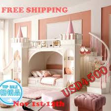 bedrooms and more. Bunkbeds For Girls Princess Castle Bunk Beds Twin Furniture With Ladder Book Cabinet Bedrooms And More