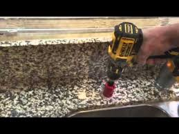 YouTube How To Drill A Hole In Granite