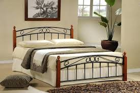 wood and iron bedroom furniture. White Wrought Iron Bedroom Furniture Wood And Cast King Bed E