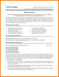 6 Police Officer Resume Template Address Example