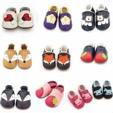 Cartoon Printing Genuine <b>Leather</b> Soft <b>Baby Shoes Newborn Baby</b> ...