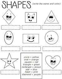 Enjoy Teaching English: SHAPES (worksheet)
