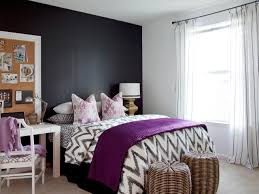 Purple And Grey Bedroom Ideas With Blue