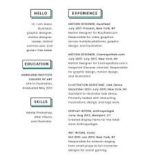 Anthropologie Graphic Design Internship Resume Alexa Fishman