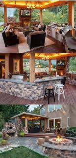 diy patio ideas pinterest. Medium Size Amazing Outdoor Kitchen And Lounge Bar Kitchens Room Diy Backyard Ideas Patio Bbq Ab Large Pinterest P
