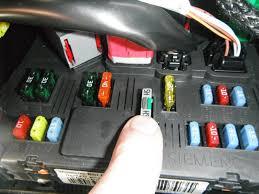 help clock radio display peugeot forums pugs 206 bsi parc shunt immobiliser fuse jpg