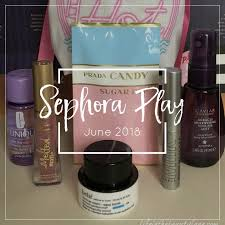 the month of june is all about summer nights and a walk down the beauty boardwalk lets take a k inside sephora play s beauty bag