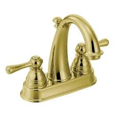 moen kingsley faucet. Contemporary Faucet Moen Kingsley 6121P Polished Brass Bathroom Faucet Intended L