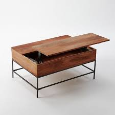 table with storage. incredible side table with storage industrial coffee west elm