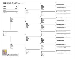Free Family Tree Chart Blank Family Pedigree Chart Rome Fontanacountryinn Com