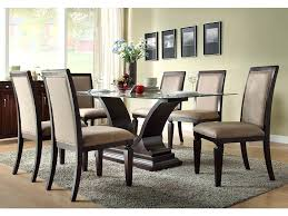 round glass dining room table and chairs medium size of dinning glass dining table set for