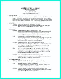 Recent College Graduate Resume Resume For College Graduate With No Experience Therpgmovie 23