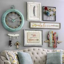 bring a shabby chic charm to your home by adding pieces of wall decor from kirkland s flea market collection they are full of bright colors  on shabby chic wall art pinterest with kirklands home decor gifts gallery wall pinterest gallery wall