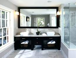 black framed bathroom mirrors. Oval Frameless Bathroom Mirror Small Medium Size Of Framed Mirrors Black L